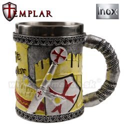 Celtic Cup Templar Knight Rytier pohár 400ml 39151