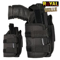 Opaskové puzdro MOLLE ROYAL® Belt Holster Black