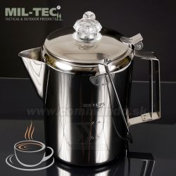 Kanvica na kávu so sitkom 1,3L Percolator Miltec®