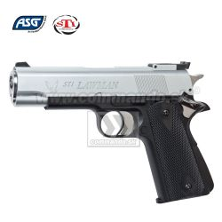 Airsoft Pistol STI Lawman Silver GNB 6mm