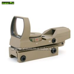 Kolimátor Phantom Multi Dot Sight Reflex Desert