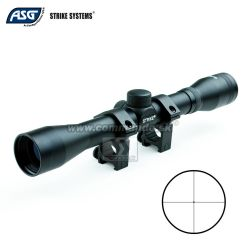 Puškohľad Strike Systems 4x32 Scope + Mount Rings