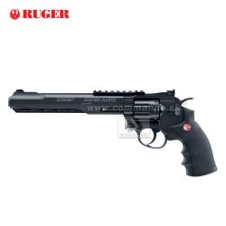 "Airsoft Revolver RUGER Super Hawk 8"" Black CO2 6mm"