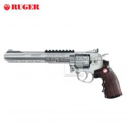 "Airsoft Revolver RUGER Super Hawk 8"" Nickel CO2 6mm"