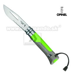 OPINEL OUTDOOR Green No.08 Inox zatvárací nôž Savoie France