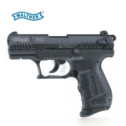 Plynovka Walther P22 Black 9mm