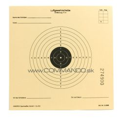 Papierový terč 14x14 cm Umarex Target for air rifles