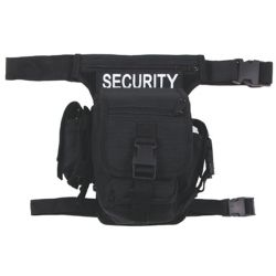 HIP BAG security - čierna
