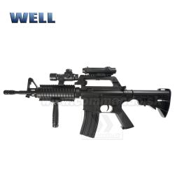 Airsoft Well MR744 M4 Manual ASG 6mm