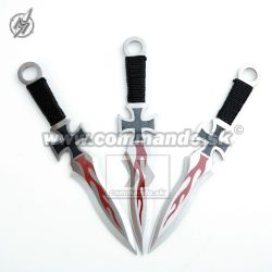 Throwing Knives Maltese Cross Set 3pcs. Vrhacie nože 3 kusy Set