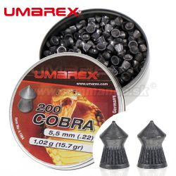 Diabolky Umarex Cobra 5,5mm (.22) Pointed pellets Ribbed
