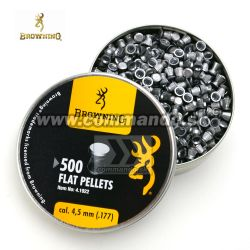 Diabolky Browning Airgun Flat Diabolo Pellets 4,5mm 500ks