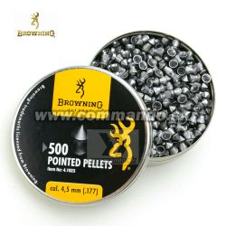 Browning Airgun Pointed Diabolo Pellets 4,5mm 500ks