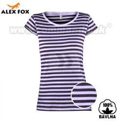 ce89ccb33ead Alex Fox Námornícke tričko Ladies Anne Russian Marine T-Shirt krátky rukáv
