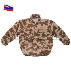 a56234533 Slovenská armádna páperová bunda vz M97 púštna