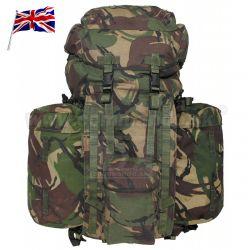 025cec1658 Britský org. používaný vojenský plecniak PLCE shortback
