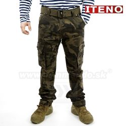 ITENO nohavice Tactical Earth Camo