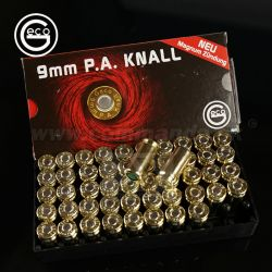 GECO Blank Cartridges poplašný náboj 9mm P.A.K. 50ks