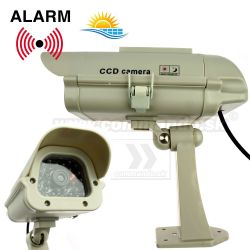 Security Dummy SOLAR CCD Camera Atrapa