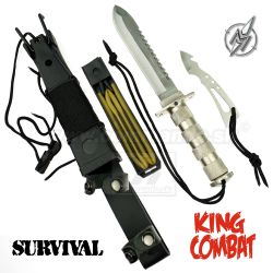 Martinez Albainox Combat King II 32033 Chrome survival nôž