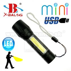 Bailong X-BAL BL-511 Mini USB LED svietidlo Zoom Flashlite
