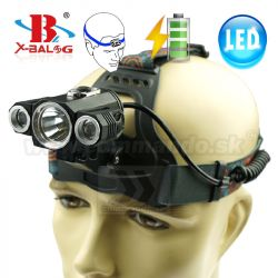 Čelovka X-Bal 18258 T6 Led 2XPE Headlamp 2027