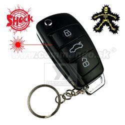 Kľúčenka Shock Car Key s červeným laserom 5fedff2ddbe