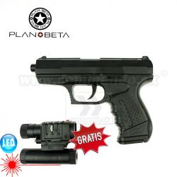 Mini Pistol PP9 Kiddos Manual guličkovka 6mm