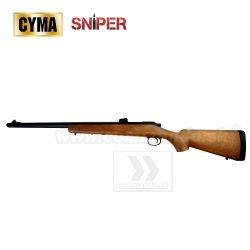 Airsoft Sniper CM701A Wood manual 6mm