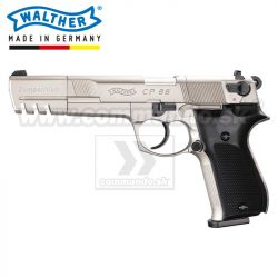 Vzduchová pištoľ Walther CP88 Competition Nickel, CO2 4,5mm, Airgun Pistol