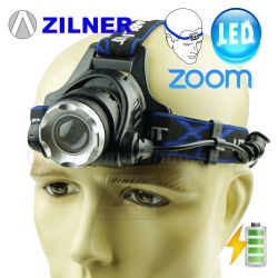 Čelovka Zilner Zoom MS2041 1x18650 Headlamp