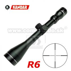Puškohľad KANDAR 3-9x40 R6 Ø25mm Scope
