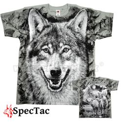 Tričko Vlk Wolf Wild Life Grey Shadow T-Shirt