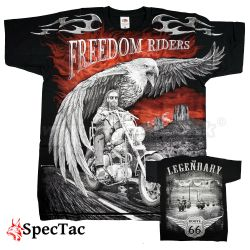 Tričko Motorcycle Legendary Freedom Riders T-Shirt