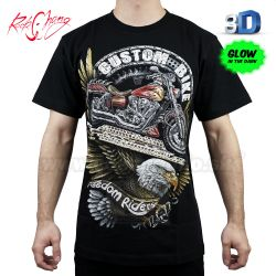 Tričko 3D Custom Bike Rock Chang 3D77 T-Shirt