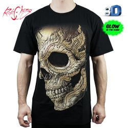 Tričko 3D Life Element Rock Chang 3D52 T-Shirt