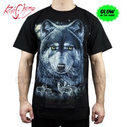 Tričko Wolf and The Moon Rock Chang GR378 T-Shirt