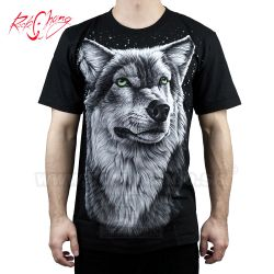 Tričko Strong Wolf Rock Chang 4464 T-Shirt