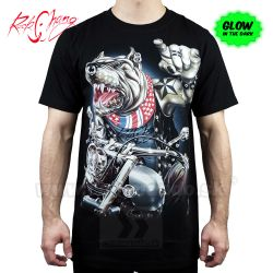 Tričko Pitbull Free Rider Rock Chang GR762 T-Shirt