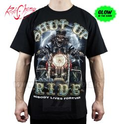 Tričko Shut Up Ride Rider Rock Chang GR413 T-Shirt