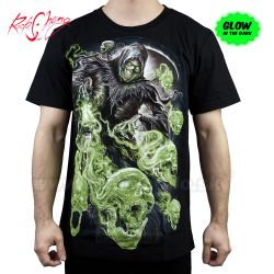 Tričko Glow Skull Guardian Rock Chang GW218 T-Shirt