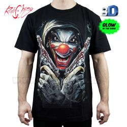 Tričko 3D Funny Killer Rock Chang 3D121 T-Shirt