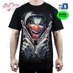 63019d7375a7 Tričko 3D Funny Killer Rock Chang 3D121 T-Shirt