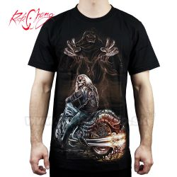 Tričko Devil Rider Rock Chang 4314 Motorcycle TShirt
