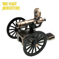 Mini Gatling kovový No.9305 Die-Cast Miniature