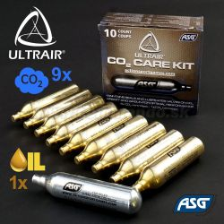 ASG ULTRAIR Care Kit CO2 9x + Oil 1x