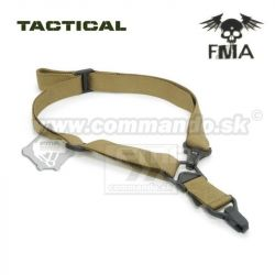 Tactical FMA Multi Mission taktický popruh 1 / 2 bodový Dark earth