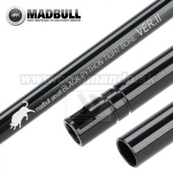 "Presná hlaveň MadBull Black Python II Tight Bore 6,03mm x 363mm ""M4"""