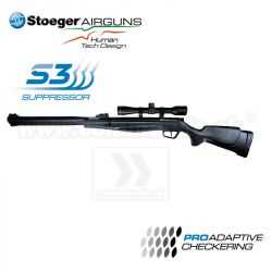 Vzduchovka  STOEGER RX20 S3 combo Synthetic 4,5mm 15J Airgun