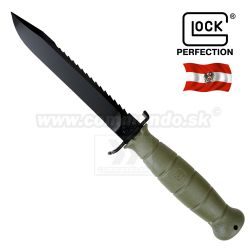 Bojový nôž Dýka Glock Model FM 81 OLIVE Tactical Knife